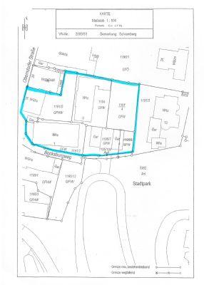 Lageplan des Gesamt-Areals