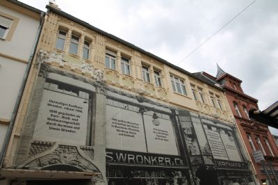 Fassade Kaufhaus Wronker
