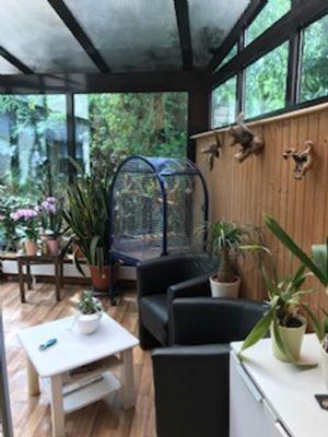 Doppelhaush lfte in ruhiger lage garage wintergarten - Wintergarten ffb ...