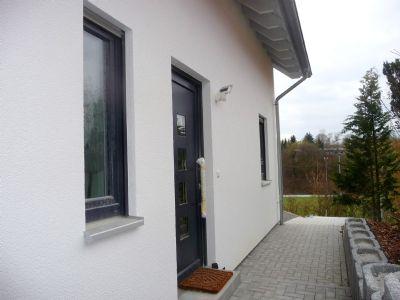 Hausansicht Hauseingangsbereich