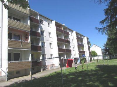Wäscheplatz an der Balkonseite