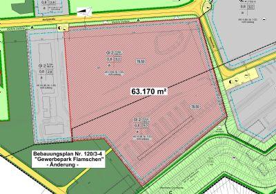 Lageplan 63.000 m²