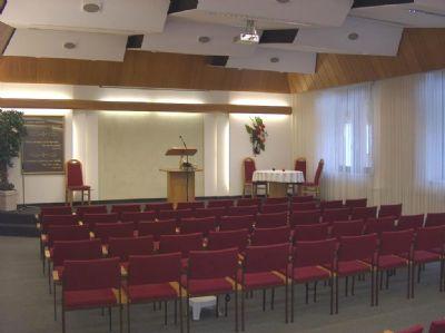 Hauptsaal mit 87m²