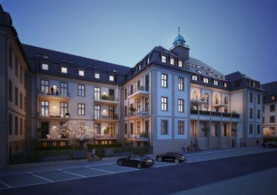 3-Zi- DG Wohnung mit Seltenheitswert - ~ 50m² großer Wohn-/Essbereich # 2 Terrassen # 2,80m lichte Raumhöhe