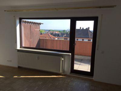 Renovierte 2-Zimmer-Wohnung mit Blick über die Dächer Nürnbergs
