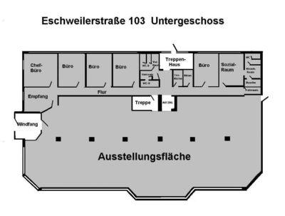 Grundriss EG Hauptgebäude
