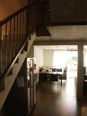 Blick vom Eingangsbereich in d