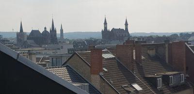 Trauminnenstadtwohnung mit 134 m² über den Dächern von Aachen über 2 Etagen mit grosser Empore