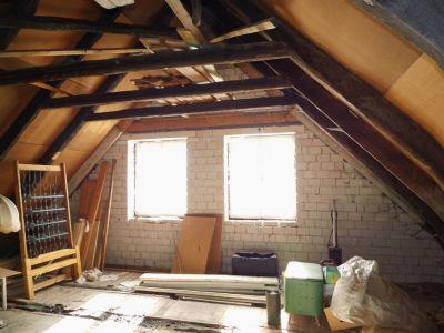 Ausbaureserve im Dachgeschoß