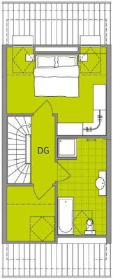 Mittelhaus Dachgeschoss