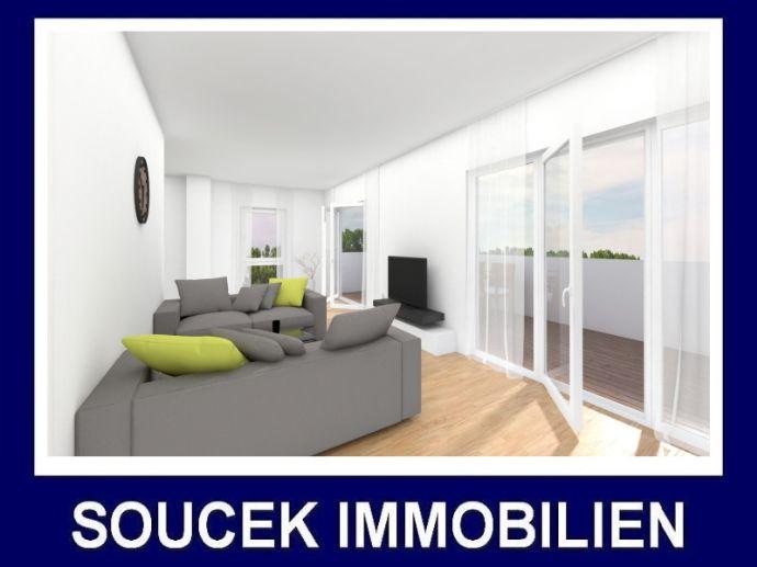 +++ Penthousewohnung mit großer Dachterrasse und Aufzug in zentrumsnaher Lage - Neubauerstbezug +++