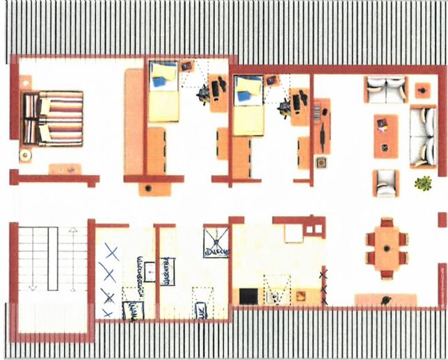 Neu renovierte Dachgeschosswohnung in Creußen