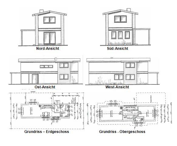 Im Bau befindliches Einfamilienhaus mit ca. 80m² und 3 Zimmern auf kleinem Grundstück in der Nähe zur Regionalbahn in Ludwigsfelde