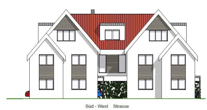 Penthouse mitten in Rietberg - WohnenArbeiten auf einer Ebene!