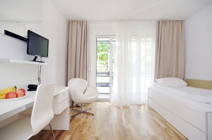 Frankfurt City - schöne vollmöblierte home for times-Appartements -nähe Messe/im Brentanopark