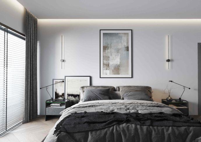 hochwertige 3 Zimmer Wohnung im