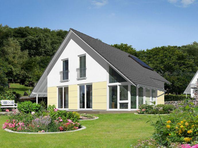 Haus und Garten in einem – naturverbunden Wohnen.