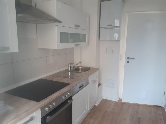 Arndtstraße Gotha - 3 Raumwohnung mit Einbauküche im Erdgeschoss
