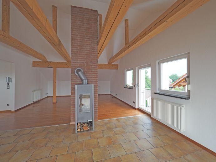 Dachterrassen-Wohnung im Loft-Stil