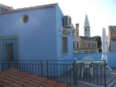 Blaues Apartement