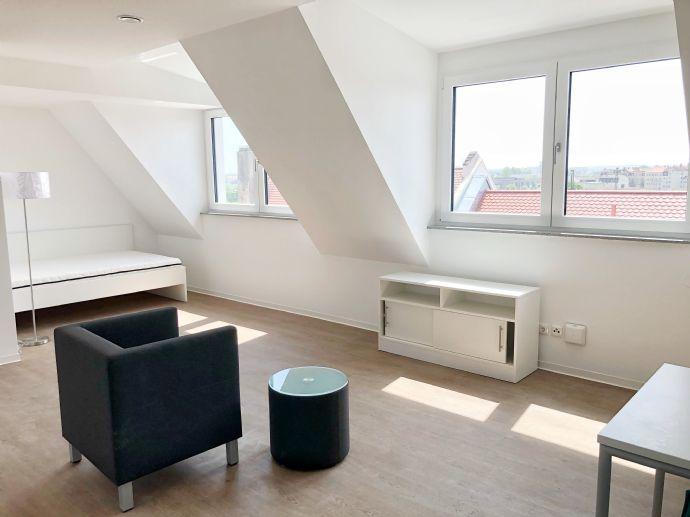 Erstbezug - 1 Zi Apartment mit toller Aussicht - möbliert