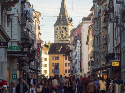 Zürich Ladenlokale, Ladenflächen
