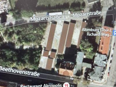 Altenburg Garage, Altenburg Stellplatz
