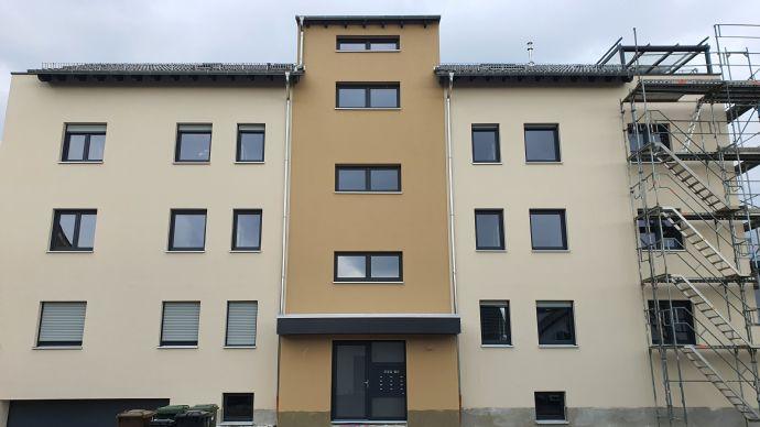 Helle 2-Zimmer-Wohnung mit Balkon, Neubau, Erstbezug