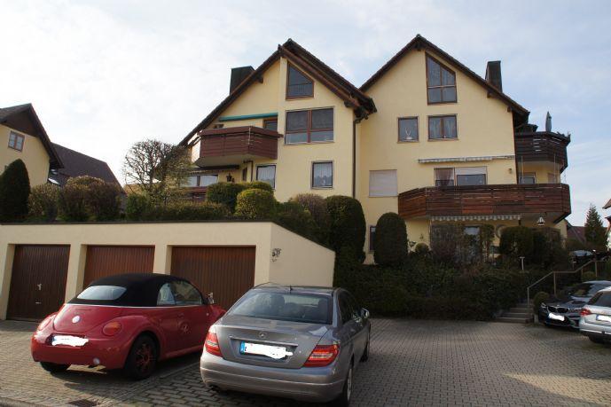 4,5-Zi.-Maisonette-Wohnung in Jettingen mit herrlichem  Fernblick