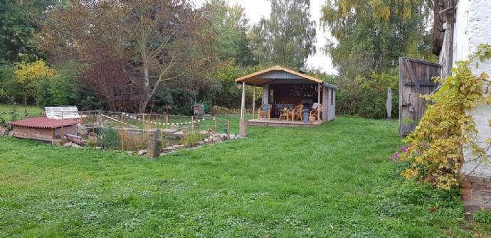 Drei Seitenhof im südlichen Sachsen