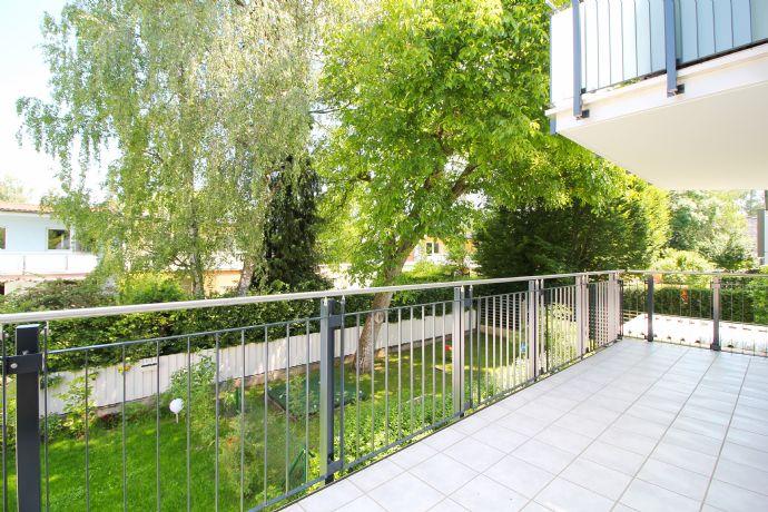 Neubau 2-Zimmer-Wohnung in ruhiger Lage von Waldperlach