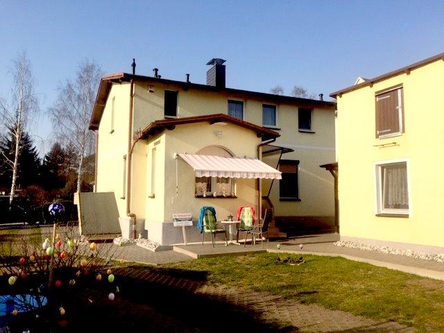 Kapitalanlage oder Eigennutzung.Haus und Ferienwohnung mit großem Grundstück auf der Insel Usedom zu verkaufen. ( Reserviert )