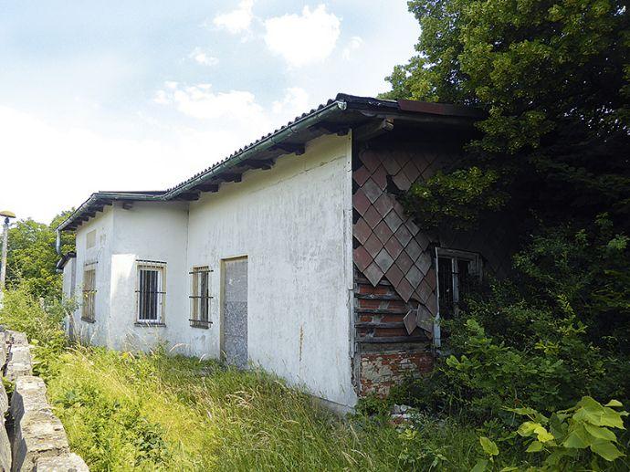 ehemaliges Bahnempfangsgebäude in Oebisfelde-Weferlingen OT Buchhorst