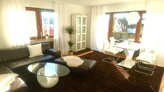 2,5 Zimmerwohnung möbliert in Bernhausen, EBK, Stellplatz