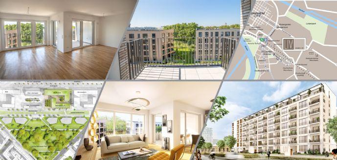 Helle 2-Zimmer-Wohnung mit Balkon und