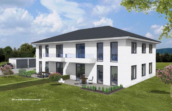 schickes Doppelhaus mit traumhaftem Ausblick auf Baustetten