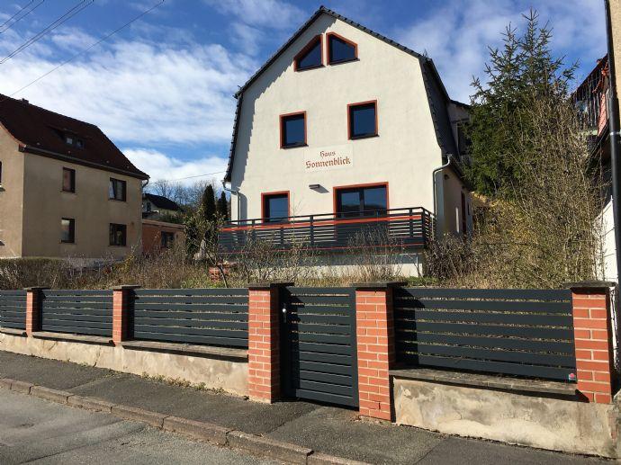 Einfamilienhaus mit Traumblick in beliebter Wohnlage in Bad Blankenburg
