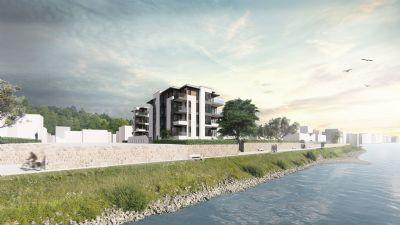 EXKLUSIVER NEUBAU IN 1. RHEINLAGE | Stilvolle 3,5-Zimmer-Wohnung mit Balkon in Pfaffendorf