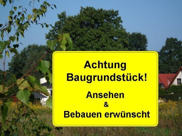 Kleines Baugrundstück in ruhiger Stadtlage von Vetschau/Spreewald