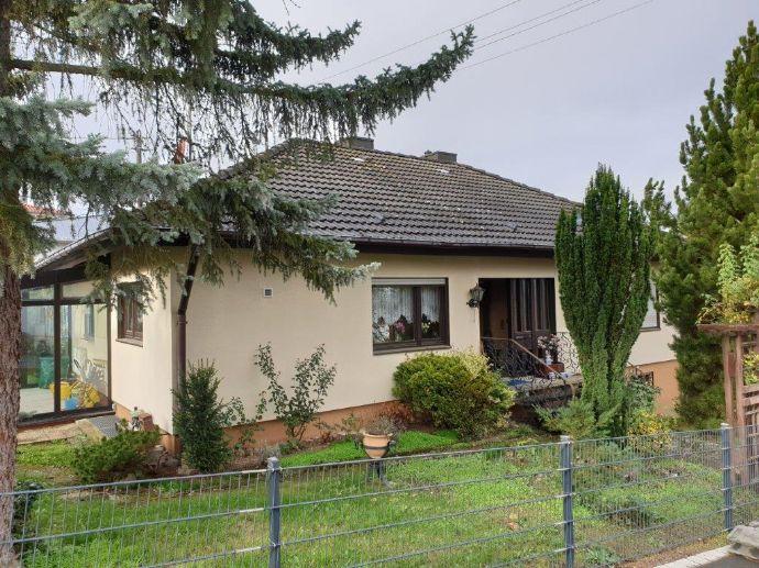 Einfamilienhaus mit Baugrundstück in bester Lage von Höchberg