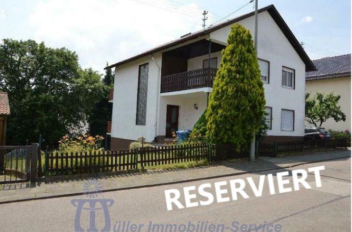 Bechhofen: Schönes Einfamilienhaus mit Fernblick