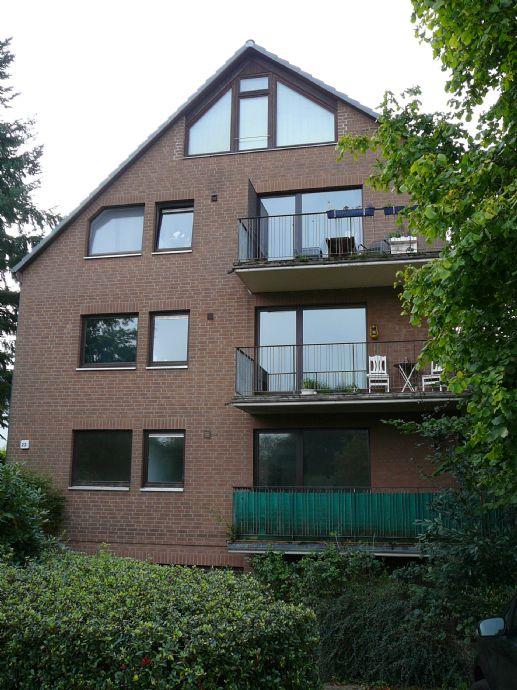 Ruhige 2-Zimmer-EG Wohnung in Hummelsbüttel mit Balkon, Einbauküche und Gartennutzung