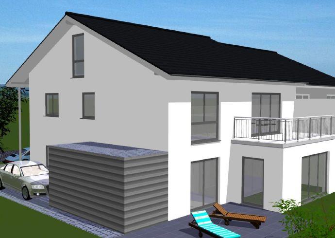 Obergeschoss-ETW in Zweifamilienhaus - Spitzboden ausbaufähig