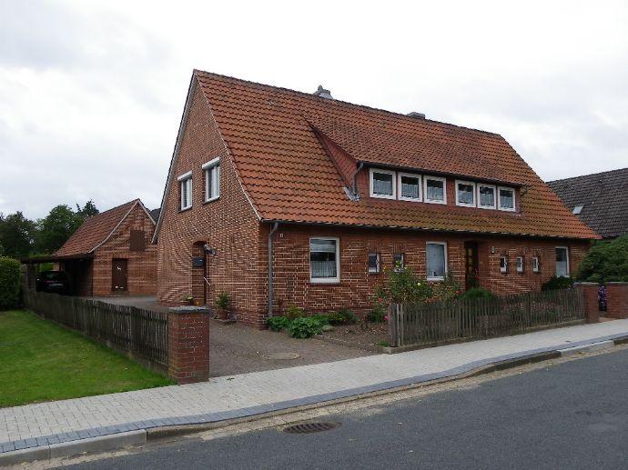Zweifamilienhaus mit Flair und großem Garten in Visselhövede