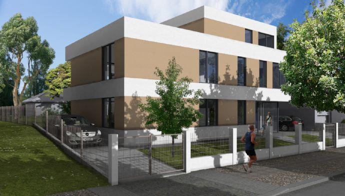 Helle 2-Zimmer-Wohnung mit Terrasse und Gartenanteil