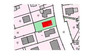 PROJEKTIERTES Grundstück zum Bau eines Doppelhauses sehr ZENTRAL
