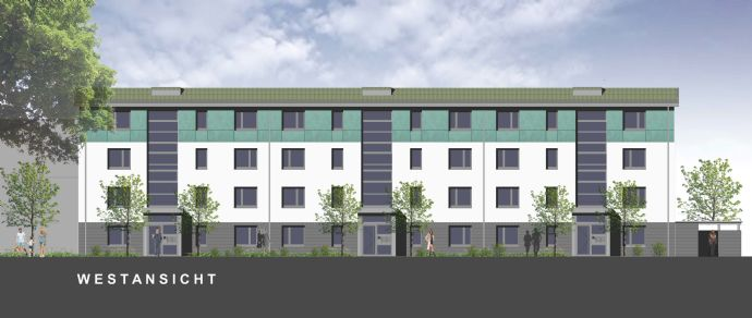 Modernes, perfekt aufgeteiltes 3-Raum-Wohnen mit Loggia am Stadtrand von Monheim!