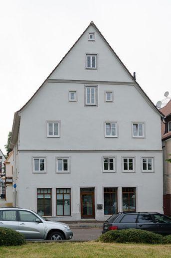 Schöne 3-Zimmer-Wohnung in Oettinger Altstadt
