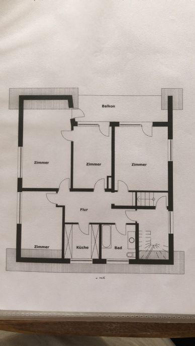 4-Zimmer-Wohnung mit Balkon in Willich zu vermieten