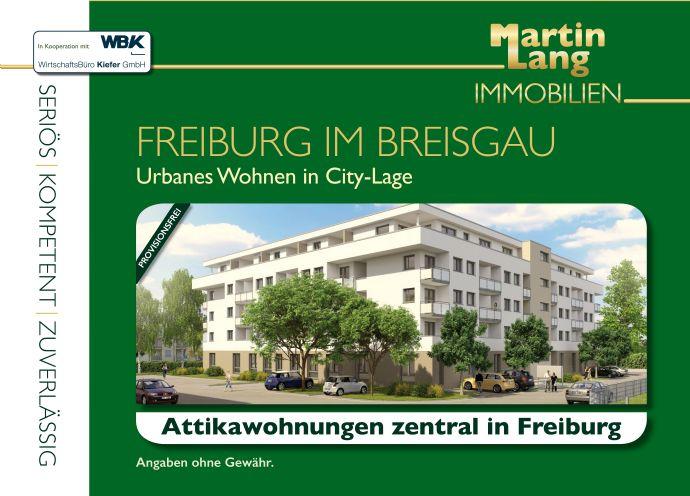 Attika- Eigentumswohnungen zentral in Freiburg
